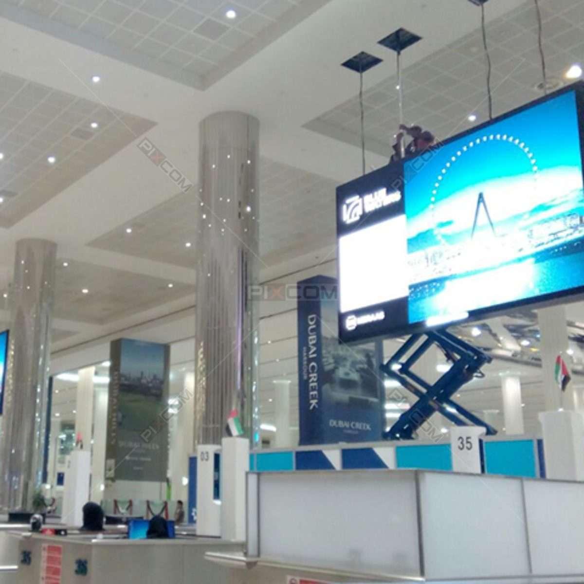JCDecaux at Dubai Airport Terminal 3