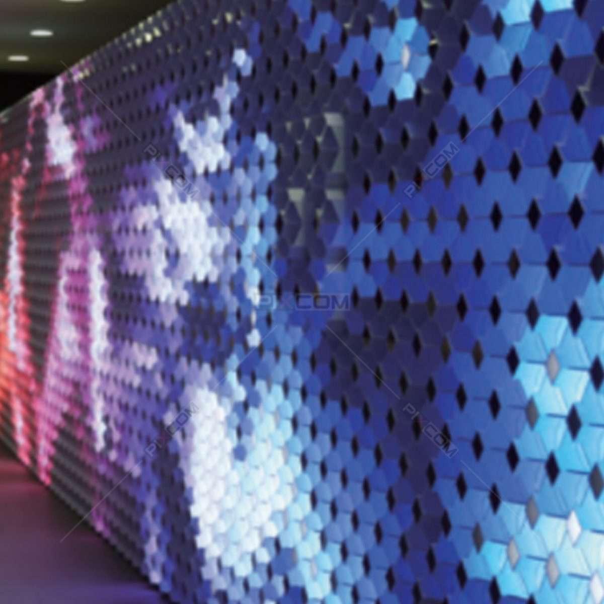 Pixel Panel Lighting Sculpture